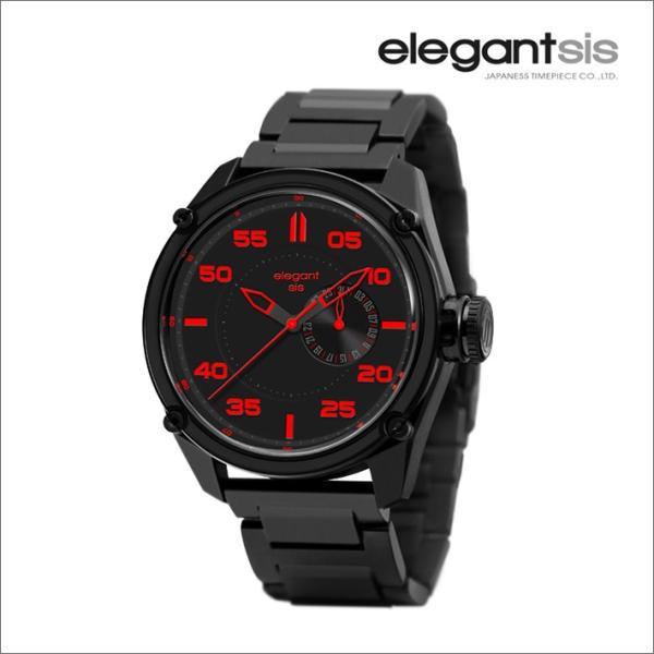 エレガントシス elegantsis 腕時計 ELJT47-PR03MA ミリタリースタイル ファイヤーアームモデル|ippin|02