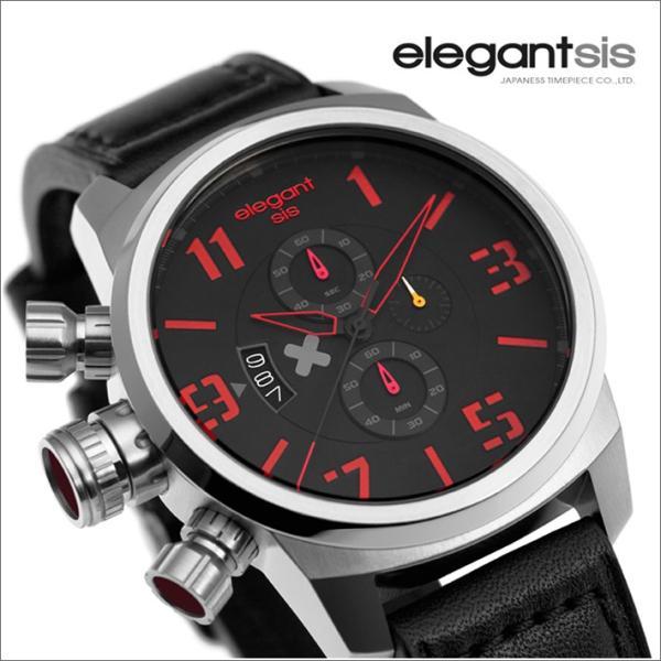 エレガントシス elegantsis 腕時計 ELJT48-OG10LC ミリタリースタイル 従軍看護師モデル|ippin|02