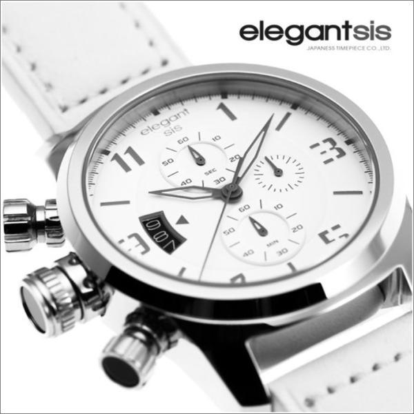 エレガントシス elegantsis 腕時計 ELJT48-OW11LC ミリタリースタイル|ippin|02