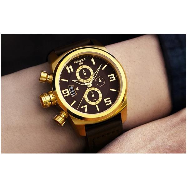 エレガントシス elegantsis 腕時計 ELJT48S-OB08LC ミリタリースタイル レディースモデル|ippin|02