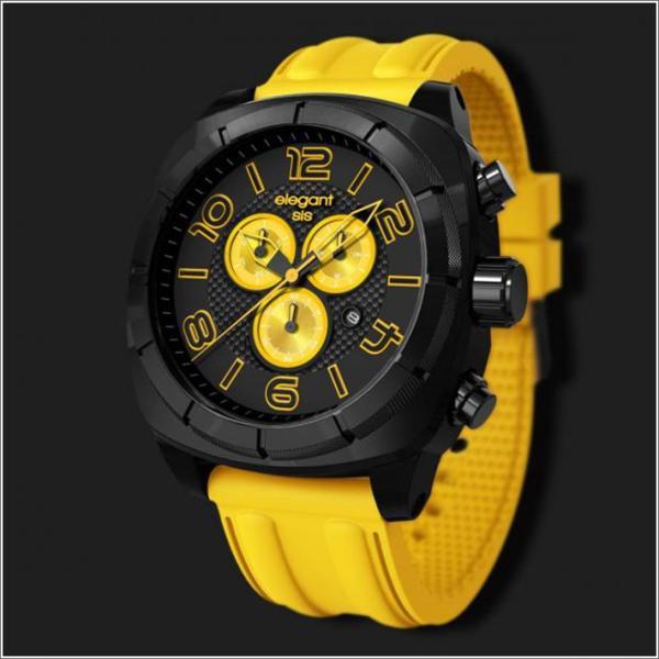 エレガントシス elegantsis 腕時計 ELJT66-FY04LC スポーツスタイル サーファーモデル|ippin