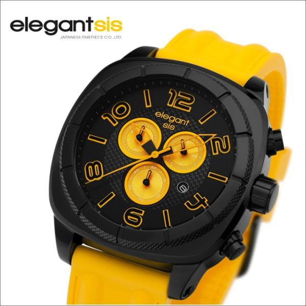 エレガントシス elegantsis 腕時計 ELJT66-FY04LC スポーツスタイル サーファーモデル|ippin|02