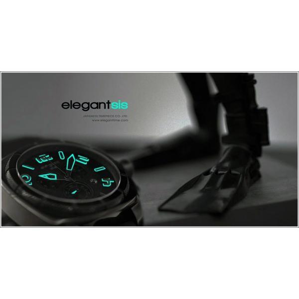エレガントシス elegantsis 腕時計 ELJT66-FY04LC スポーツスタイル サーファーモデル|ippin|05