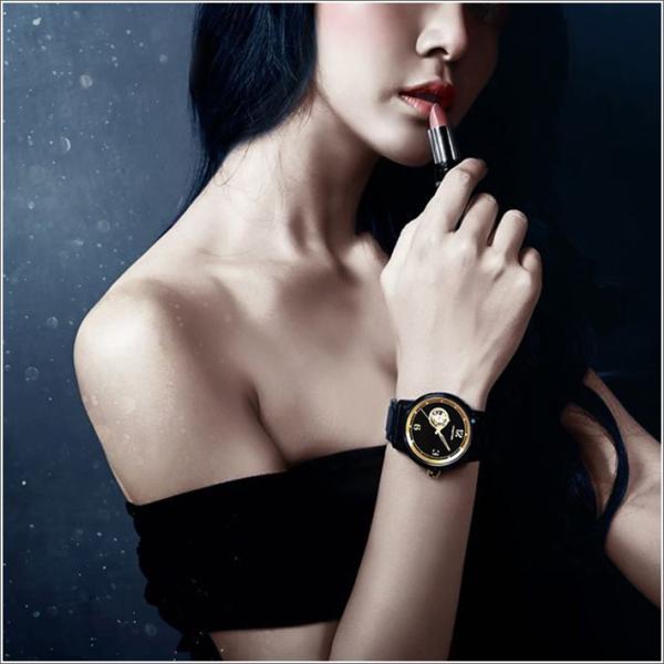 エレガントシス elegantsis 腕時計 ELJT75A-NB01MA ゴールデンファッショナブル レディースモデル ippin 03