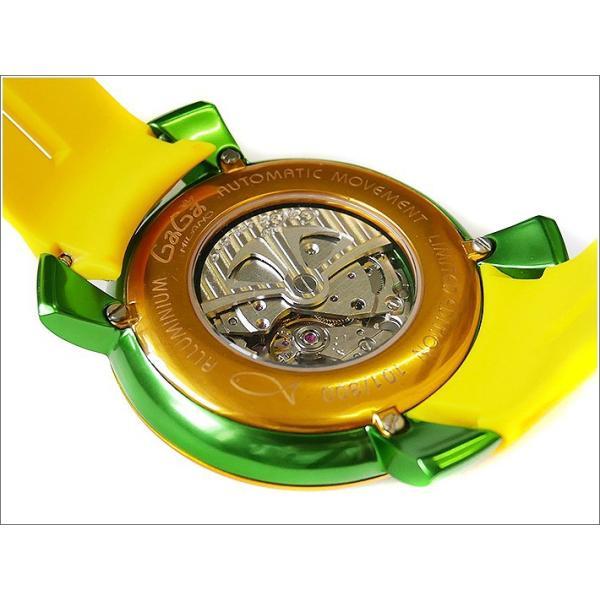 ガガミラノ GAGA MILANO 腕時計 5070.3 ラバーベルト|ippin|03