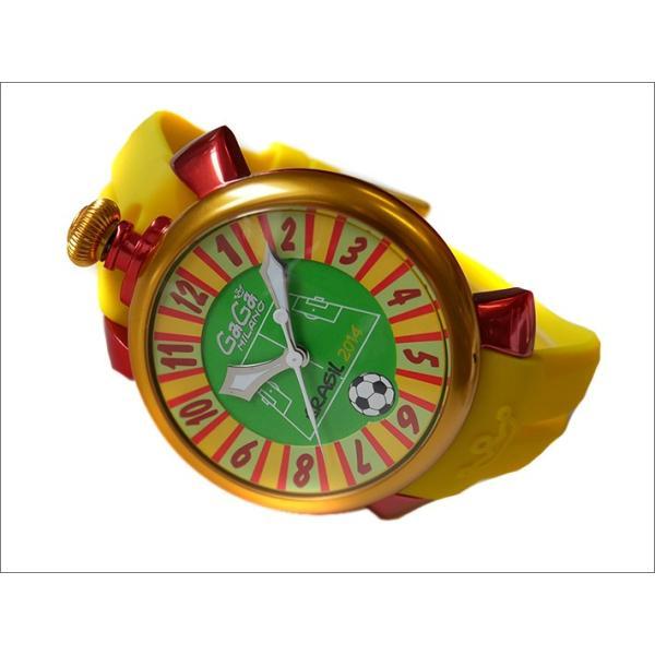 ガガミラノ GAGA MILANO 腕時計 5070.5 ラバーベルト|ippin