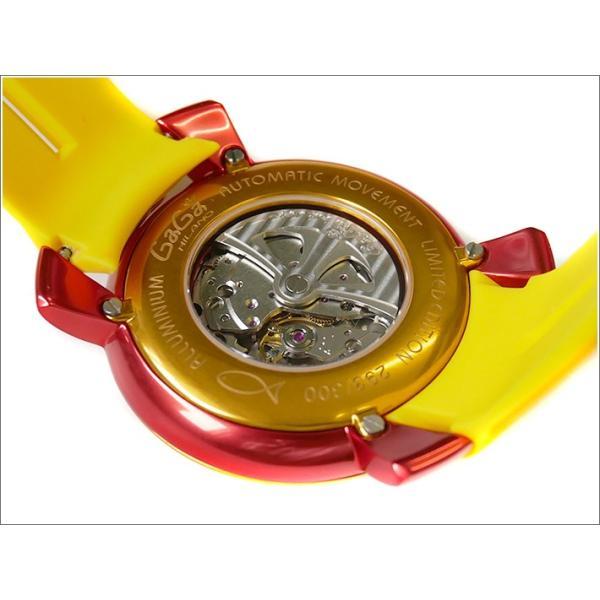 ガガミラノ GAGA MILANO 腕時計 5070.5 ラバーベルト|ippin|03