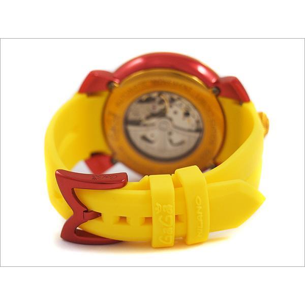 ガガミラノ GAGA MILANO 腕時計 5070.5 ラバーベルト|ippin|04
