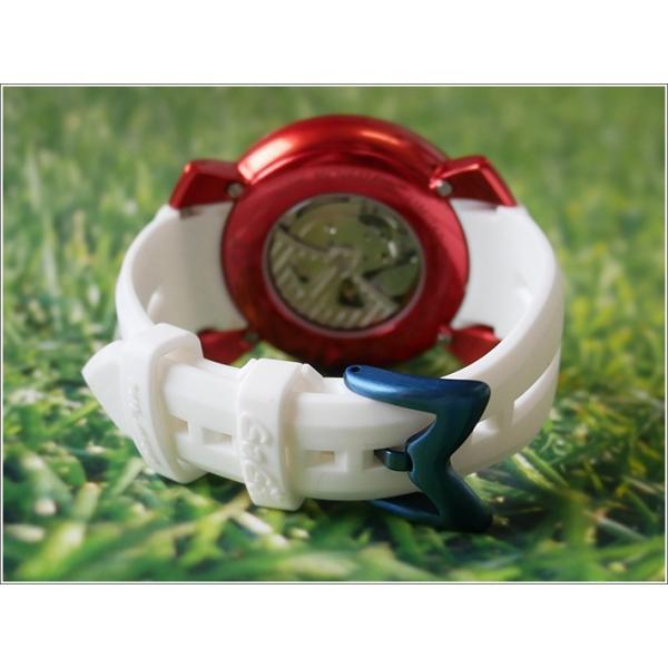 ガガミラノ GAGA MILANO 腕時計 5070.6 ラバーベルト|ippin|04