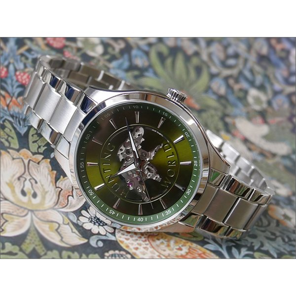 ハンティングワールドHUNTINGWORLD腕時計HW502SGRメタルベルト機械式自動巻