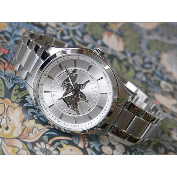 ハンティングワールドHUNTINGWORLD腕時計HW502SSIメタルベルト機械式自動巻