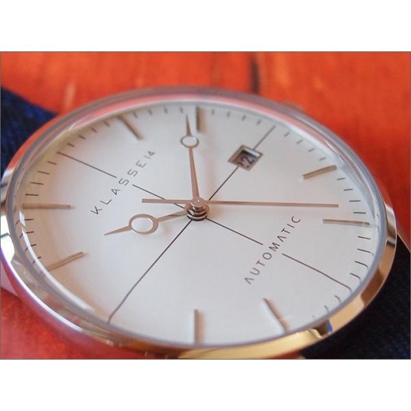 クラス14 KLASSE14 腕時計 MARIO NOBILE DISCO VOLANTE SARTORIA DI17SR003M メンズ テキスタイルベルト|ippin|02