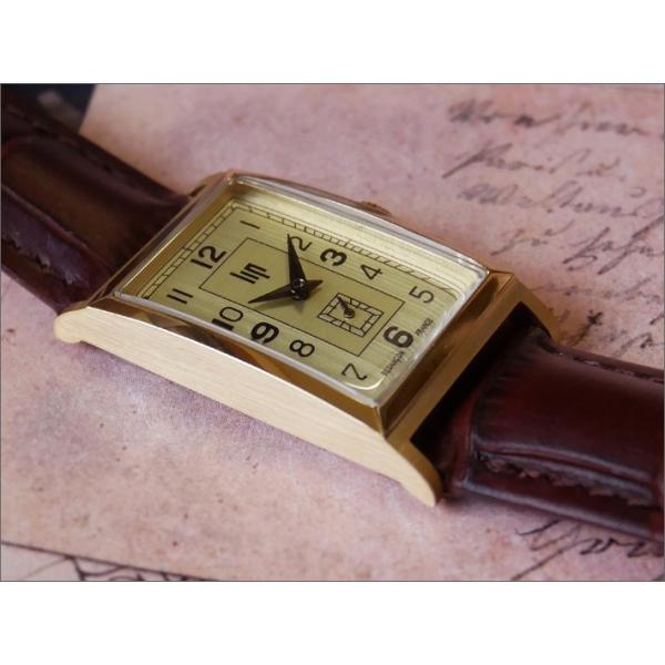 リップ LIP 腕時計 671001 チャーチル レザーベルト クォーツ|ippin|03