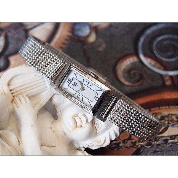 リップ LIP 腕時計 671227 チャーチル T-13 メッシュメタルベルト クォーツ レディース|ippin|02