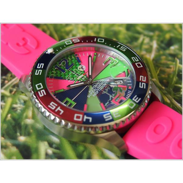 トレアッカ イタリア 3H ITALIA 腕時計 44M1.FIORE メンズ ラバーベルト 替ベルト付き|ippin|03