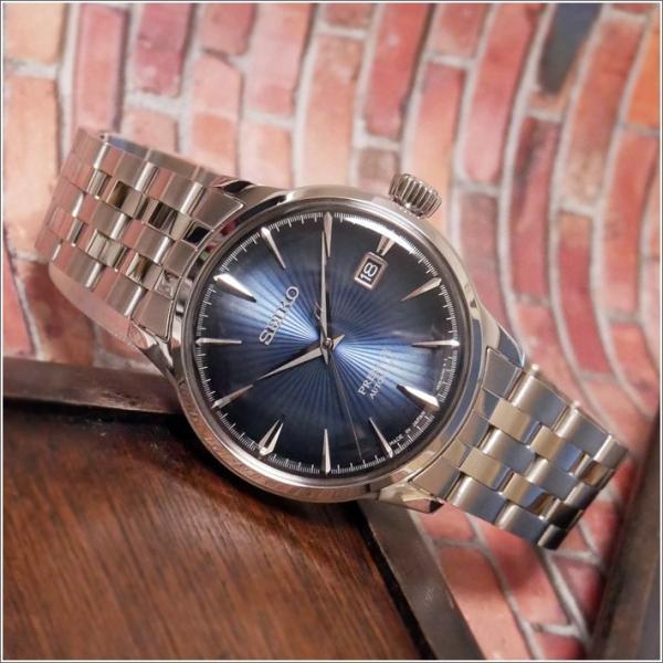 セイコー SEIKO 腕時計 SRPB41J1 メンズ メタルベルト プレサージュ オートマチック (Cal 4R35)