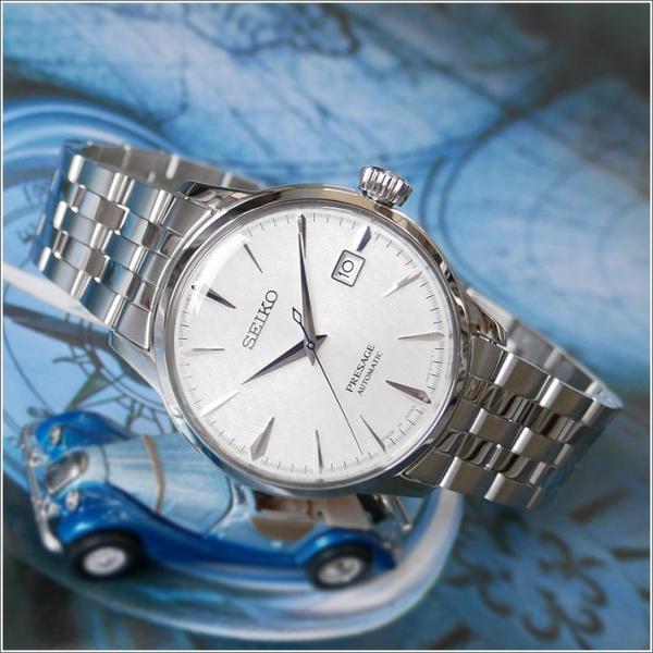 セイコー SEIKO 腕時計 SRPC97J1 メンズ メタルベルト プレサージュ オートマチック COCKTAIL FUYUGESHIKI 限定モデル (Cal 4R35)