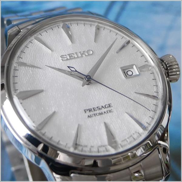 セイコー SEIKO 腕時計 SRPC97J1 メンズ メタルベルト プレサージュ オートマチック COCKTAIL FUYUGESHIKI 限定モデル (Cal 4R35)|ippin|02