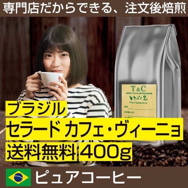 ブラジル セラード カフェ・ヴィーニョ 400g|ippuku-coffe