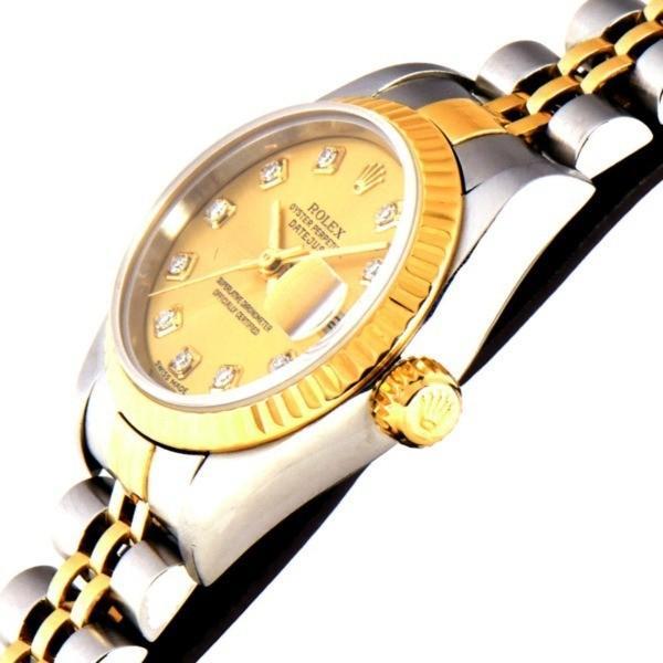 pretty nice 2150f 4ba89 ROLEX デイトジャスト 腕時計 79173G Y番 中古 (264903 ...