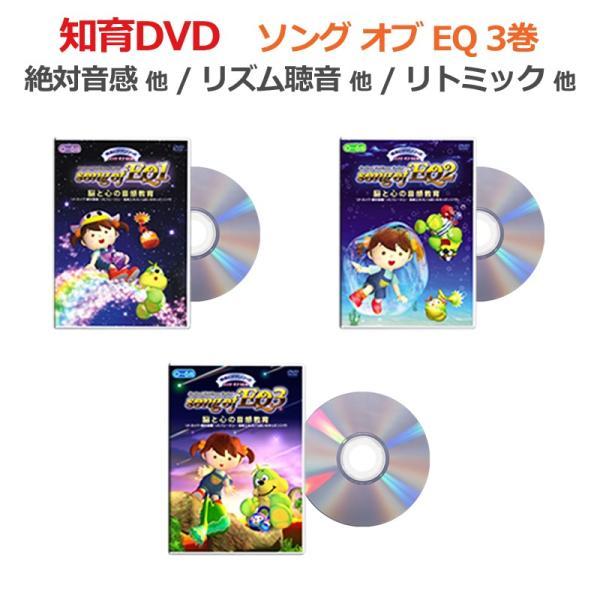発達障害や自閉症の子供が歌とアニメでリトミックなどの音感教育を「見て学べる」視覚支援DVD教材の「ソング・オブ・EQ 3巻」です。 iqgakuen 02