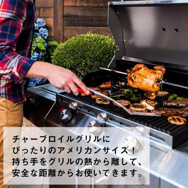 トング 火ばさみ ステンレス バーベキュー 焼き 肉 焚き火 調理器具 アウトドア キャンプ BBQ キッチンツール 料理 おしゃれ|irc-cb|04