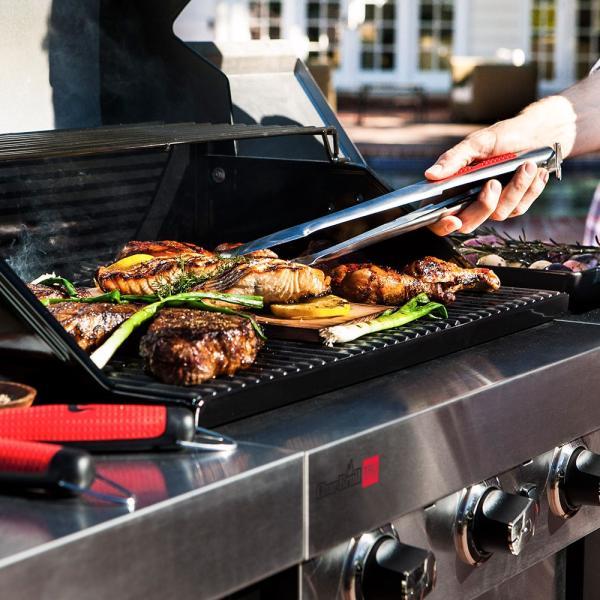 トング 火ばさみ ステンレス バーベキュー 焼き 肉 焚き火 調理器具 アウトドア キャンプ BBQ キッチンツール 料理 おしゃれ|irc-cb|06