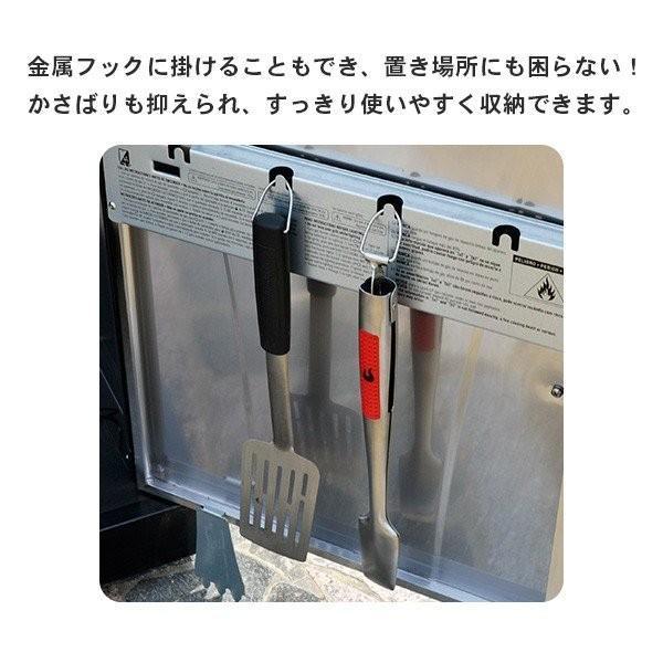 バーベキュー キャンプ アウトドア 調理器具 4Pcツールセット キッチンツール トング フライ返し フォーク ブラシ 刷毛 ステンレス 料理 グリル BBQ おしゃれ irc-cb 09