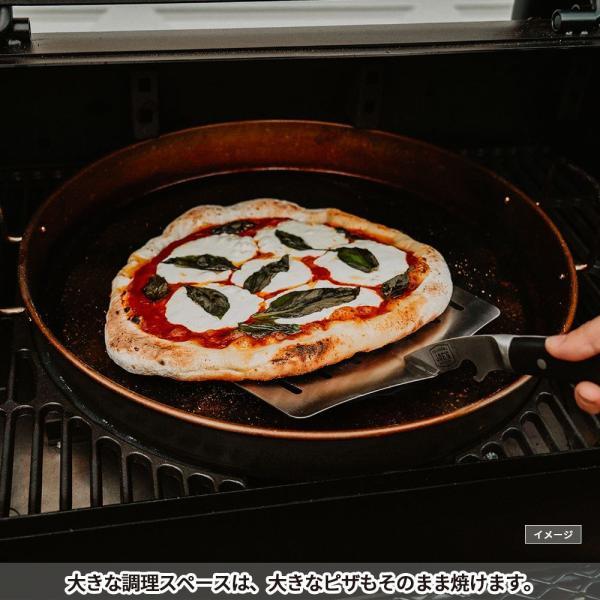 バーベキューコンロ アメリカ 炭 スモーカー 燻製 グリル BBQ 蓋付き 大型 バンデラバーティカルオフセットスモーカー アウトドア オクラホマジョーズ|irc-cb|11