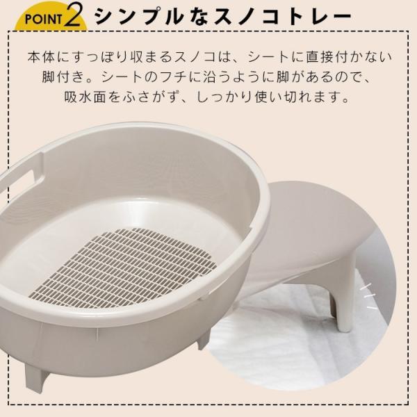 上からシステム猫トイレスターターセット アイリスオーヤマ システムトイレ用 1週間におわない 消臭シート 脱臭シート 猫トイレ ネコトイレ|irisplaza|13