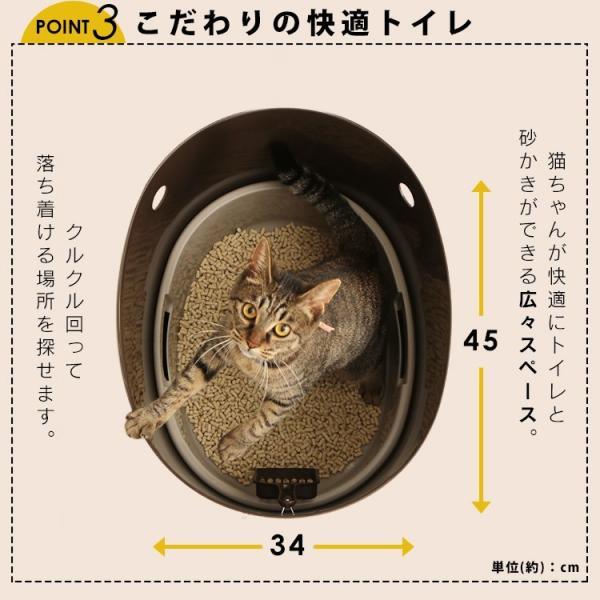 上からシステム猫トイレスターターセット アイリスオーヤマ システムトイレ用 1週間におわない 消臭シート 脱臭シート 猫トイレ ネコトイレ|irisplaza|14