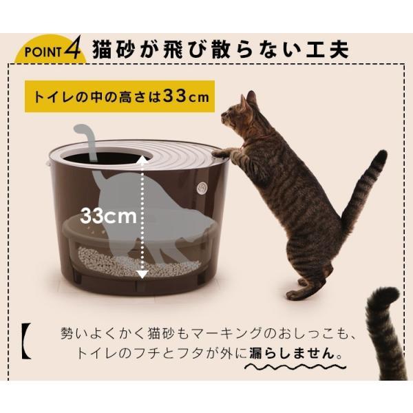 上からシステム猫トイレスターターセット アイリスオーヤマ システムトイレ用 1週間におわない 消臭シート 脱臭シート 猫トイレ ネコトイレ|irisplaza|15