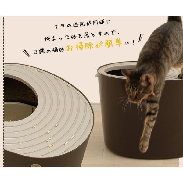 上からシステム猫トイレスターターセット アイリスオーヤマ システムトイレ用 1週間におわない 消臭シート 脱臭シート 猫トイレ ネコトイレ|irisplaza|16