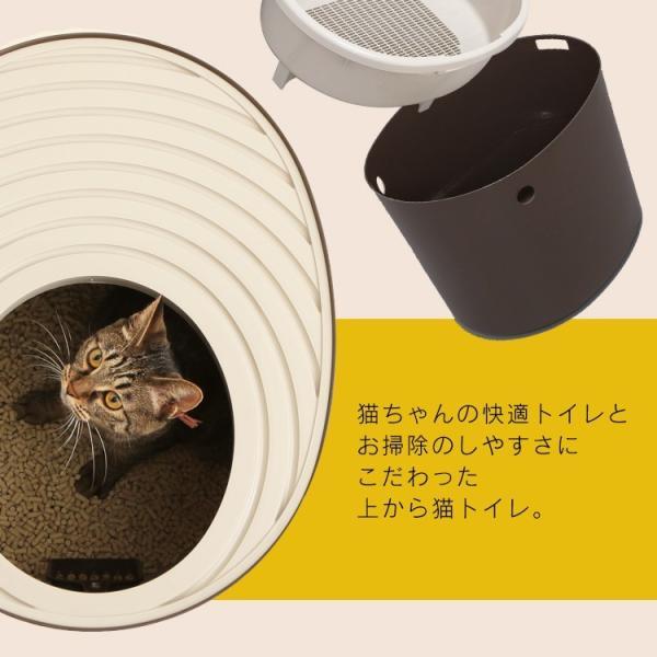 上からシステム猫トイレスターターセット アイリスオーヤマ システムトイレ用 1週間におわない 消臭シート 脱臭シート 猫トイレ ネコトイレ|irisplaza|06