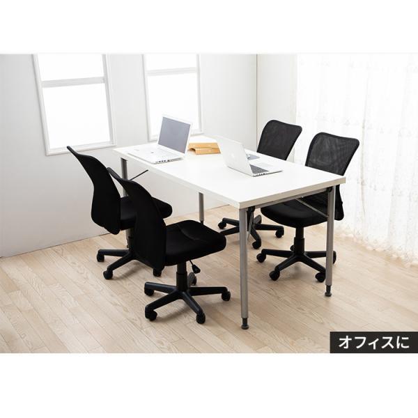 チェア オフィスチェア 椅子 メッシュバック 肘無し  パソコンチェア オフィス 会社 学校|irisplaza|05