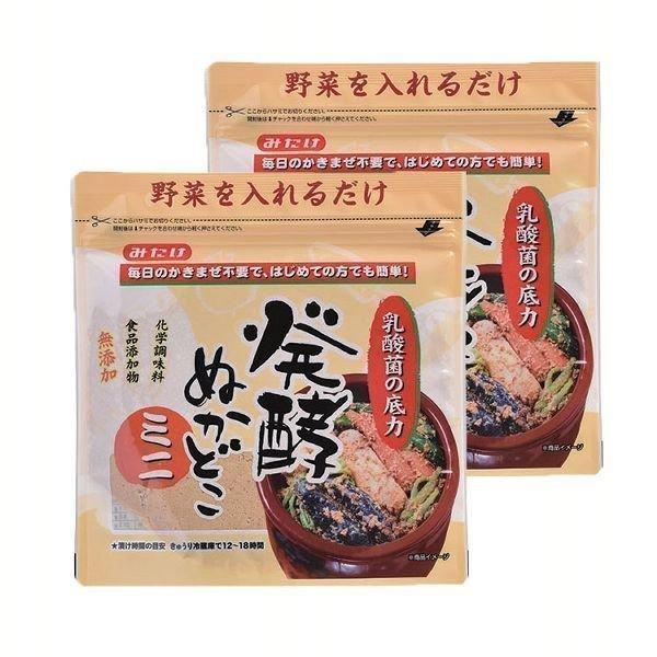 (2袋)みたけ食品 発酵ぬかどこミニ 500g みたけ食品 (D)【メール便】