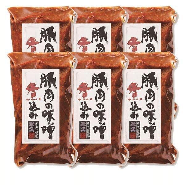 小さな豚肉の味噌煮込み 6本セット NH−4 米久 (代引不可)(TD)