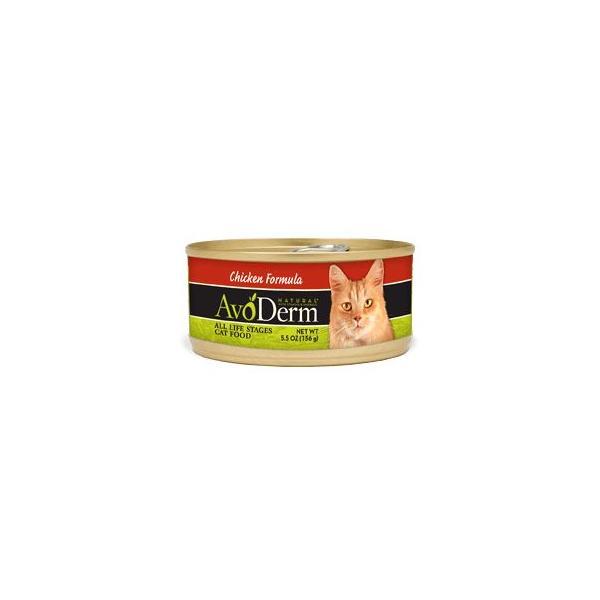 アボダーム 猫缶 チキン 156g(全年齢猫用 キャットフード ペット 缶詰/プラザセレクト)