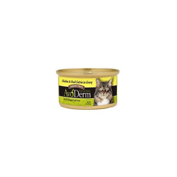 アボダーム 猫缶 セレクトカット チキン&ダック 85g(全年齢猫用 キャットフード ペット 缶詰/プラザセレクト)