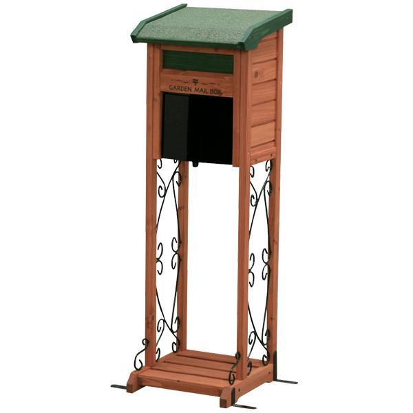 郵便ポスト 木製 メールボックス アイリスオーヤマ アイリスプラザ