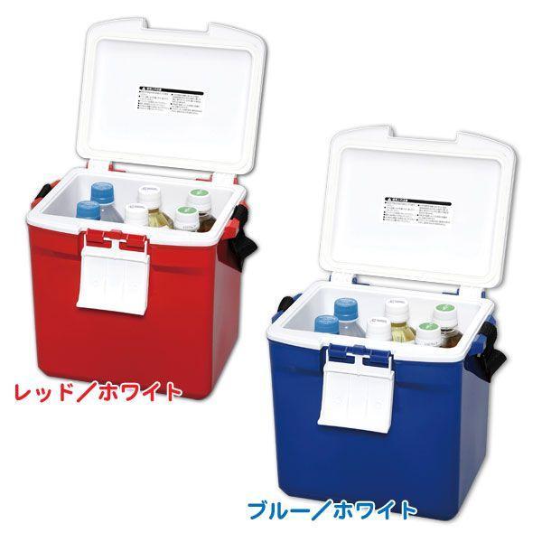 クーラーボックス 小型 保冷力 おしゃれ 釣り CL-7 レッド/ホワイト・ブルー/ホワイト(7L/クーラー バッグ 保冷バック 保冷剤/アイリスオーヤマ)|irisplaza|03