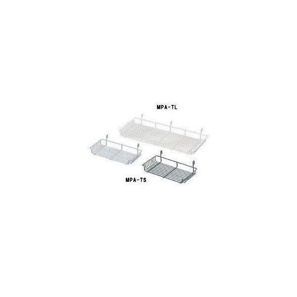 メッシュパネルトレー 小 MPA-TS シルバー・ベージュ・ブラック(ラック 棚 収納/アイリスオーヤマ)