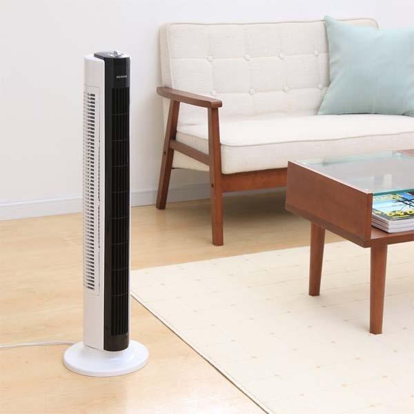 扇風機 タワーファン スリム スタイリッシュ タワー型扇風機 タワー扇風機 メカ式 TWF-D81 アイリスオーヤマ 左右首振り おしゃれ|irisplaza|14