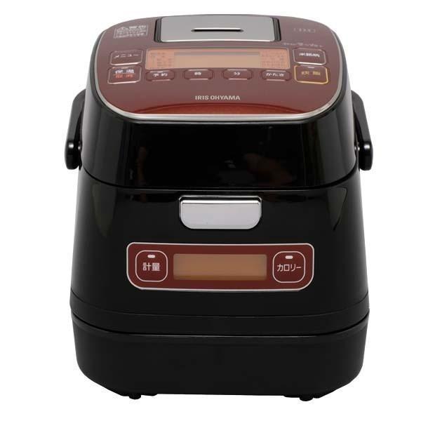 炊飯器 3合 アイリスオーヤマ  IH 一人暮らし 炊飯ジャー カロリー表示 分離式 IHコンロ 米屋の旨み 銘柄量り炊きIHジャー KRC-ID30-R|irisplaza|17
