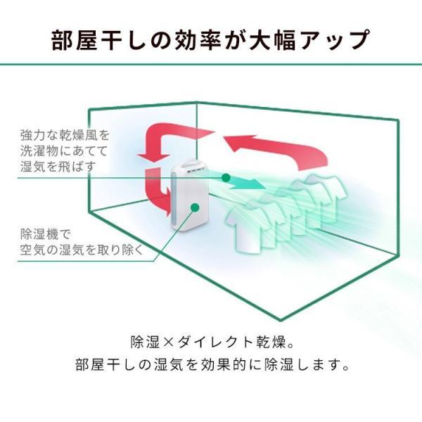 除湿機 アイリスオーヤマ デシカント式 おしゃれ 衣類乾燥 部屋干し カビ