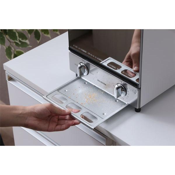 トースター アイリスオーヤマ オーブントースター 2枚 おしゃれ 縦型 コンパクト 2段構造 ミラーオーブントースター MOT-012|irisplaza|19