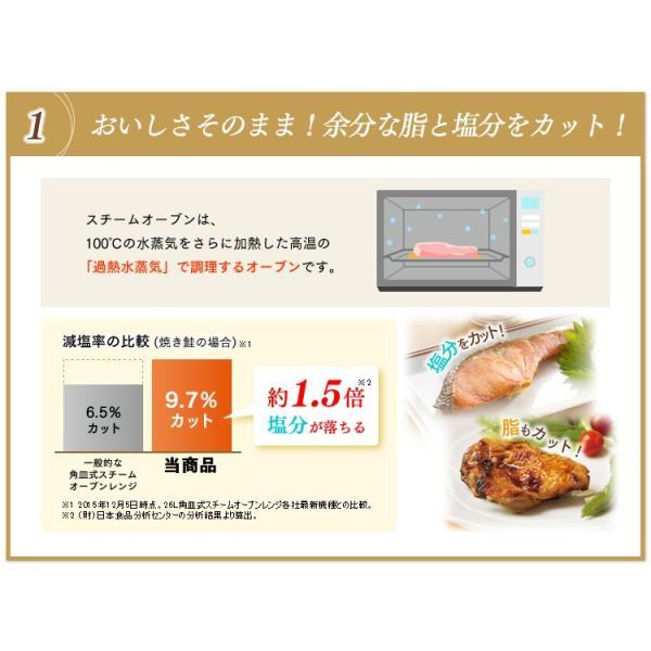 電子レンジ アイリスオーヤマ シンプル フラット スチームオーブンレンジ インバーター式  ヘルシー脂 油 グリル 1000W 250℃ MS-2402|irisplaza|04