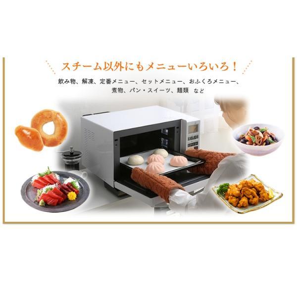 電子レンジ アイリスオーヤマ シンプル フラット スチームオーブンレンジ インバーター式  ヘルシー脂 油 グリル 1000W 250℃ MS-2402|irisplaza|07