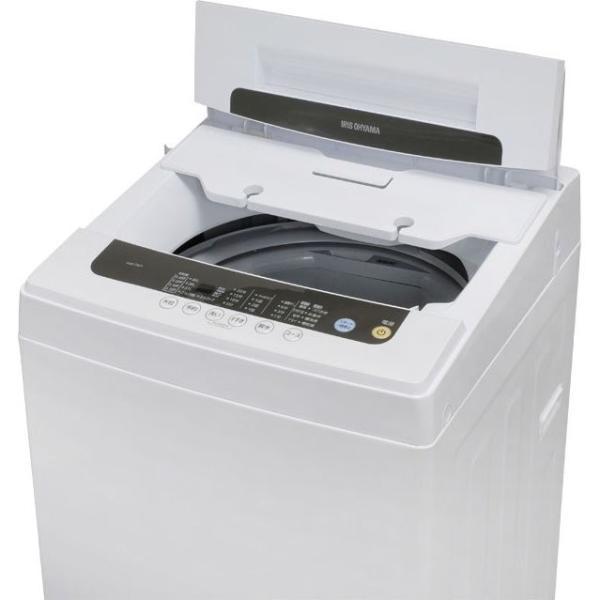 洗濯機 5kg アイリスオーヤマ 新品 設置 一人暮らし 全自動洗濯機 新生活 えりそでクリップボード付き IAW-T501  タイムセール!|irisplaza|12