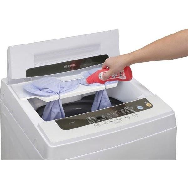 洗濯機 5kg アイリスオーヤマ 新品 設置 一人暮らし 全自動洗濯機 新生活 えりそでクリップボード付き IAW-T501  タイムセール!|irisplaza|15